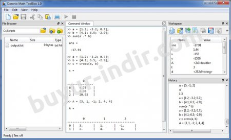 Doronix Math Toolbox v2.1