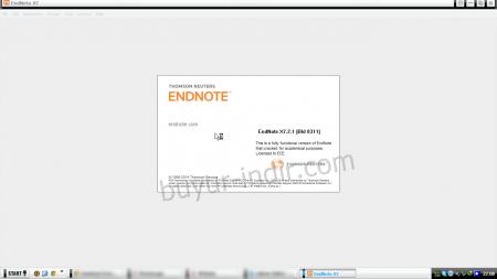 EndNote X7 - Resimli Program Kurulumu
