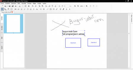 Master PDF Editor v3.7.10 Türkçe
