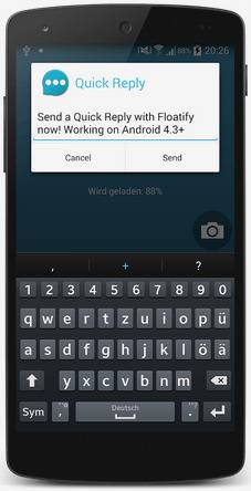 Floatify Heads-up Notification Pro v7.0 Türkçe - APK