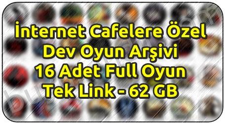 İnternet Cafelere Özel 16 Adet Tek Link Oyun Arşivi