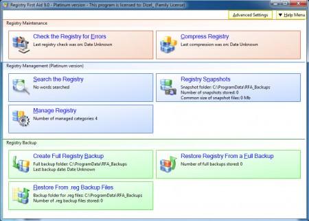 Registry First Aid Platinum v11.0.0.2394