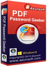 Asunsoft PDF Password Geeker v4.0 Full