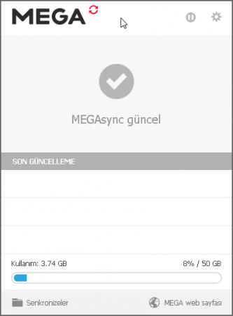 MEGAsync v2.9.4 Türkçe