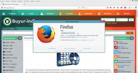 Mozilla Firefox v45.0.2 Türkçe Katılımsız