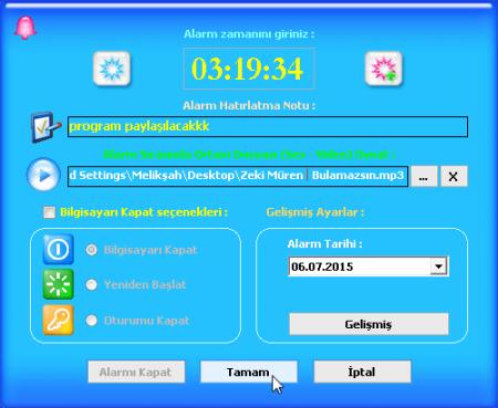 Alarmset v6.0.05 Türkçe