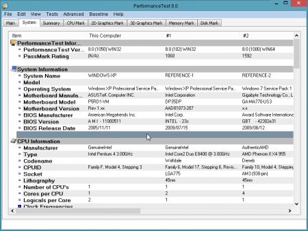 PerformanceTest v8.0 B1052 Full indir