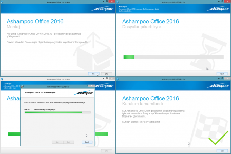 Ashampoo Office 2016 (rev 737.0618) Türkçe