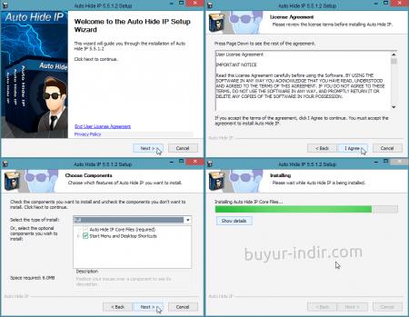 Auto Hide IP v5.5.3.8 Full indir