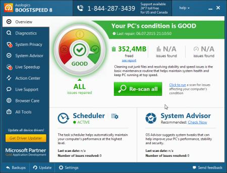 Auslogics BoostSpeed Premium v10.0.7.0