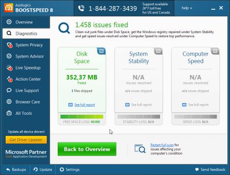 Auslogics BoostSpeed Premium v9.0.0.0 Katılımsız