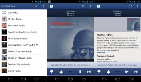 Pandora Radio v6.1 - APK