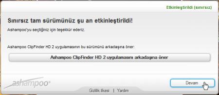 Ashampoo ClipFinder HD v2.48 Full