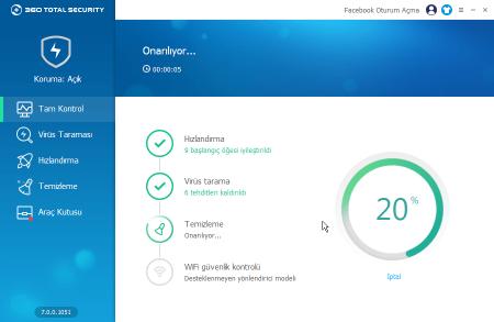 360 Total Securty - Ücretsiz Antivirüs Programı İncelemesi