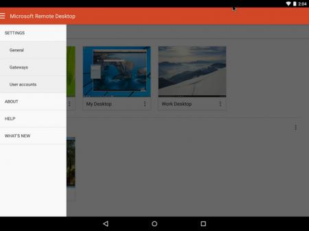 Microsoft Remote Desktop v8.1 Türkçe - APK