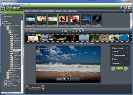 Ashampoo Video Styler v1.0.1 Türkçe