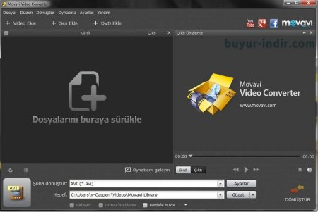 Movavi Video Converter v16.0.2 Türkçe Full