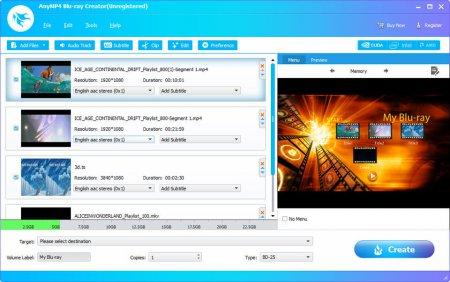 AnyMP4 Blu-ray Creator v1.1.28