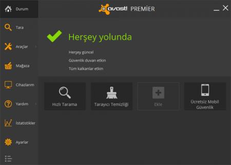 avast! Premier 2016 v11.1.2253 Türkçe Full