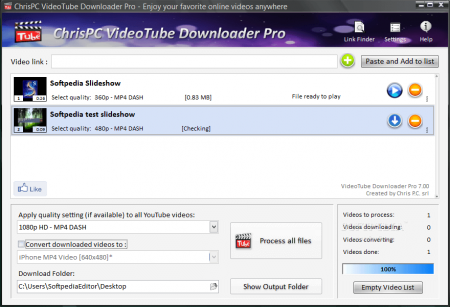 ChrisPC VideoTube Downloader Pro v7.85