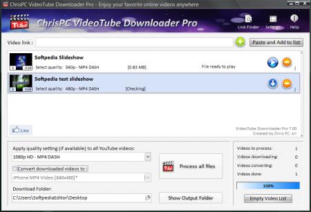 ChrisPC VideoTube Downloader Pro v7.85