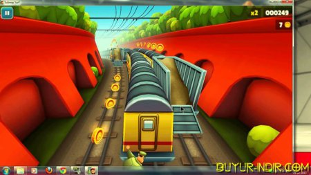 Online game subway surfers 2013