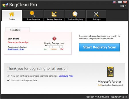 SysTweak Regclean Pro v7.2.72.227