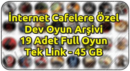 İnternet Cafelere Özel 19 Adet Tek Link Oyun Arşivi