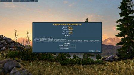 Unigine Valley Benchmark v1.0