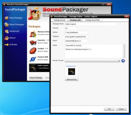 Stardock SoundPackager v1.31 Full