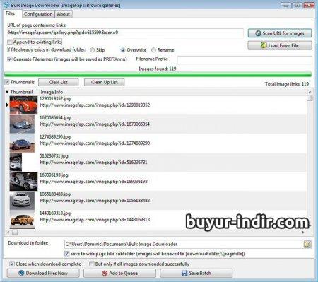 Bulk Image Downloader v4.90 Full