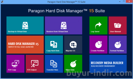 Paragon Hard Disk Manager 15 Suite v10.1.25