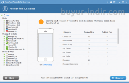 FonePaw iPhone Data Recovery v5.6.0