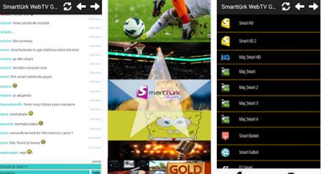 SmartTürk Web TV Android v2 Türkçe - APK Full
