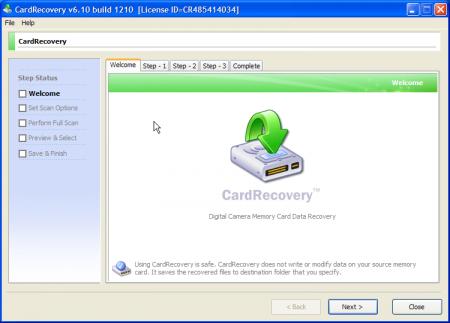 CardRecrovery v6.10 Full indir