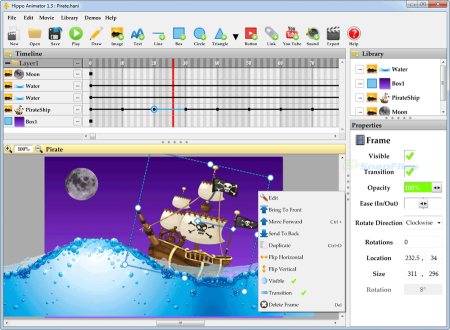 Hippo Animator v4.4.5715 Türkçe Full indir