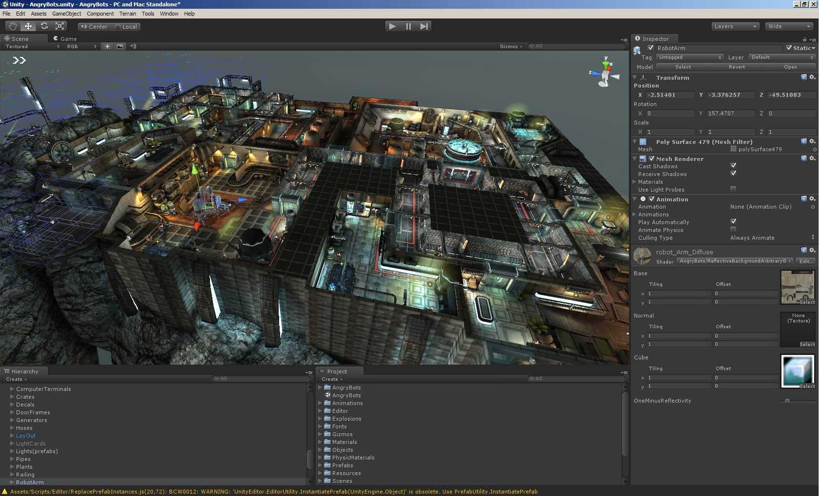 "Unity 3D Professonal v5.4.0F3 "" Sayfa 3"