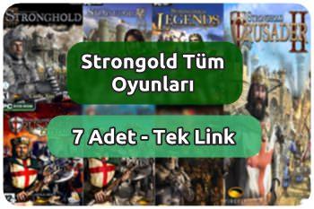 Stronghold Oyun Arşivi Tek Link (7 Adet)