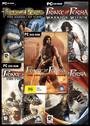 Prince of Persia Oyun Arşivi Tek Link (5 Adet)