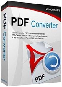 Wondershare PDF Converter Pro v4.1.0.3 Full indir