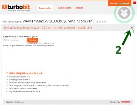 Turbobit Sitesinden Nasıl Dosya İndirilir Resimli Anlatım