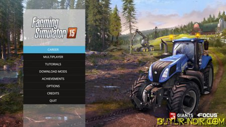 Farming Simulator 2015 Türkçe Tek Link indir