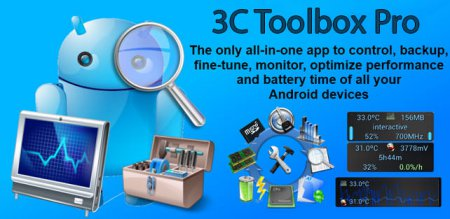 3C Toolbox Pro v1.6.7.1 APK Full indir