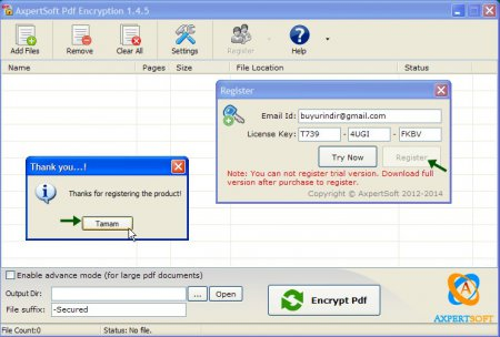 AxpertSoft PDF Encryption v1.4.5 Full indir
