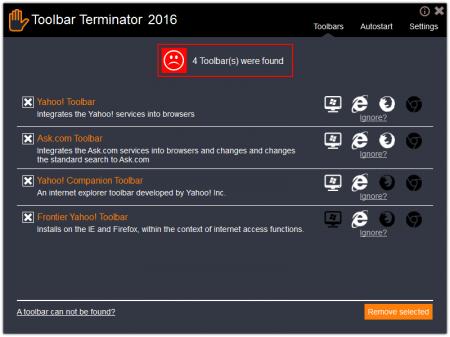 Abelssoft ToolbarTerminator 2016 v3.0