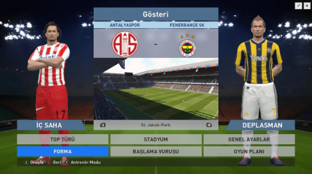 PES 2016 Spor Toto Süper Lig Yaması indir