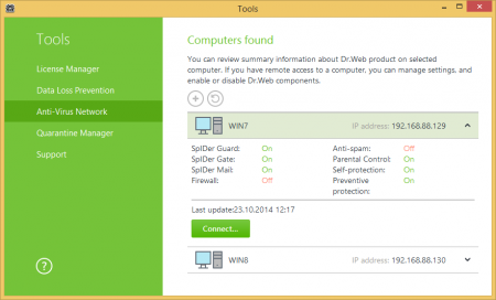 Dr.Web Anti-Virus / Security Space v11.0.3.4210