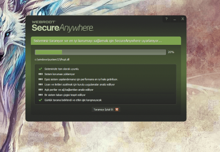 Webroot SecureAnywhere Antivirus 2015 v8.0.4.42 Türkçe