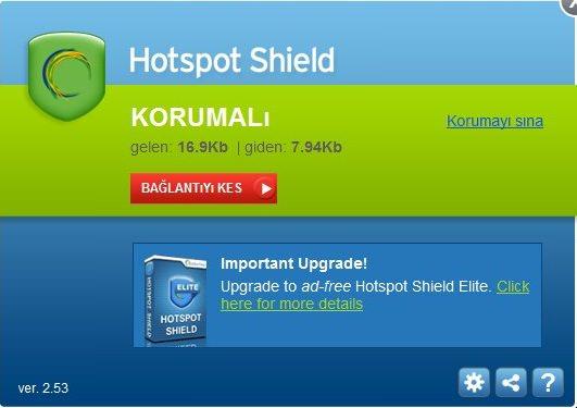 Hotspot Shield Elite VPN Türkçe v7.20.6