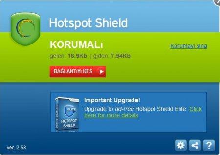 Hotspot Shield Elite VPN Türkçe v6.20.3
